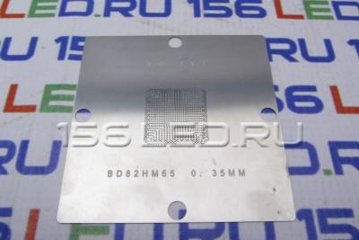 Трафарет для реболлинга 80x80 мм BD82HM65  0.35mm