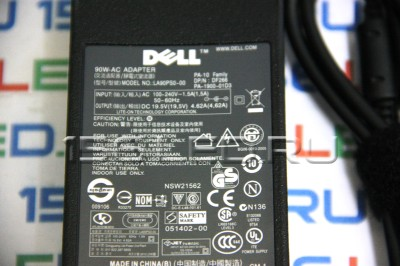 Блок питания Dell 19.5V/4.62А Оригинал чёрный