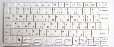 Клавиатура Acer Aspire 3410T белая глянцевая 3810 4410T 4535 4736 4810 4810T 4935 4741G 9J.N1P82.00R