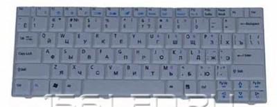 Клавиатура Acer TM 6231 6291 6292 Aspire 2920 белая РУ AEZU2700010, 9J.N4282.T2R, NSK-A9V0R