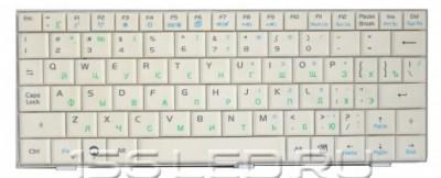 Клавиатура Asus EEE PC 4G/7xx/9xx белая (04GN021KRU10)