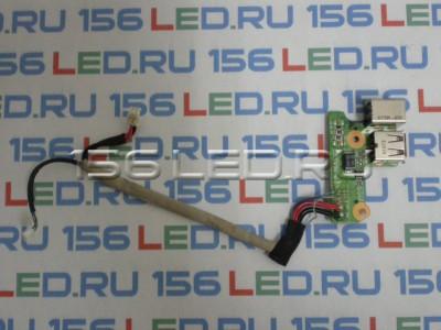 Плата USB для HP DV6000 DV6700 с разъемом питания DDAT8APB2001208