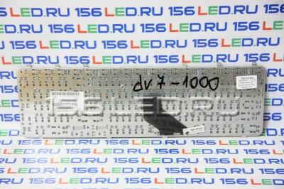 Клавиатура HP Pavilion dv7-1000 серебро РУ PK1303X0600