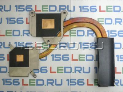 Радиатор охлаждения Lenovo G505s AT0Z30010F0 AT0Z30010V0 2 трубки