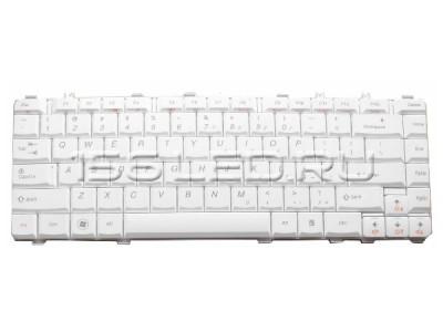 Клавиатура Lenovo Y450 Y550 B550 U450 B460 white ru