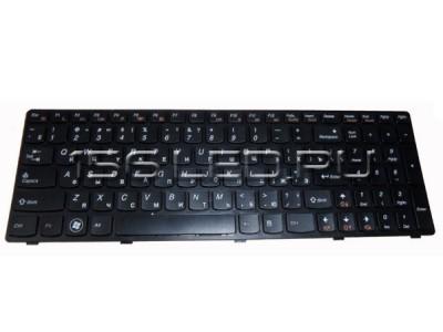 Клавиатура Lenovo Z560 V-117020AS1 25-010793 чёрная АНГ