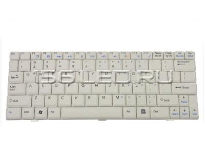 Клавиатура MSI U100, U110, U120 (белая) (S1N-1ERU351) ENG