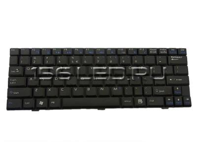 Клавиатура MSI U90, U100, U110, U120 (черная) (S1N-1ERU261) V022322BK1