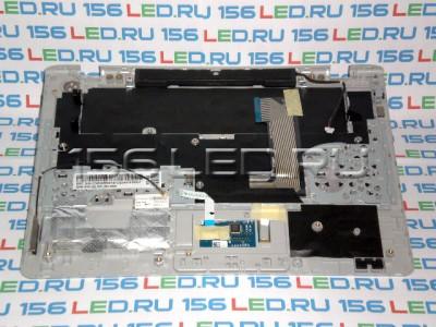 Клавиатура Samsung 305U1A чёрная РУ+верхняя панель корпуса