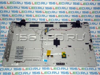 Клавиатура Samsung NP300E7A RU BA59-03183, BA75-03351C  чёрная + верхняя панель корпуса