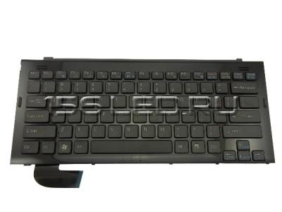 Клавиатура Sony vaio VGN-TZ черная АНГ + рамка 148023522, 148023532