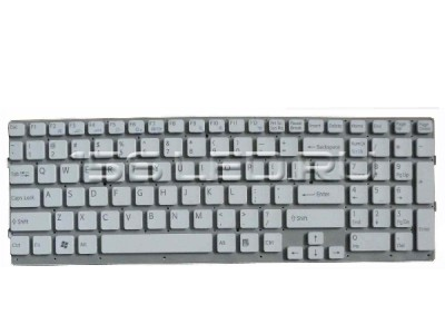 Клавиатура Sony Vaio VPC-EB белая RU 148965811 шлейф вверх