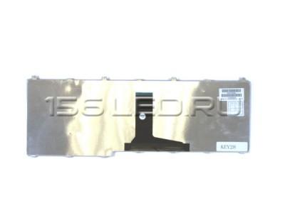 Клавиатура Toshiba A500 L350 L505 F501 P505 чёрная с подсветкой PK130743A11 9Z.N1x82.00R