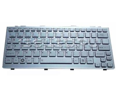 Клавиатура Toshiba Mini Nb200, 205, 255, 300 Серебро РУ NSK-TK00R 9Z.N3D82.00R, 9Z.N3D82.D0R, NSK-TJ