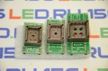 Переходник комплект PLCC32 PLCC44 DIP28 DIP32 DIP40  для программатора