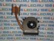 Радиатор охлаждения Sony VPC EA EB 300-0001-1302 + Вентилятор UDQFRZH14CF0