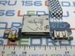 Плата Lenovo G505 Card Reader Board + Audio Jack + USB LS-9901P