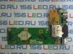 Плата кнопки включения ASUS K52 Card Reader USB разъем питания 60-NXMDC1000-E01